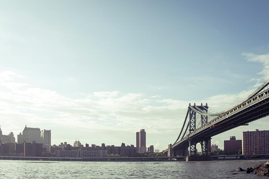Fdr And Manhattan Bridge Photograph by Guillermo Murcia