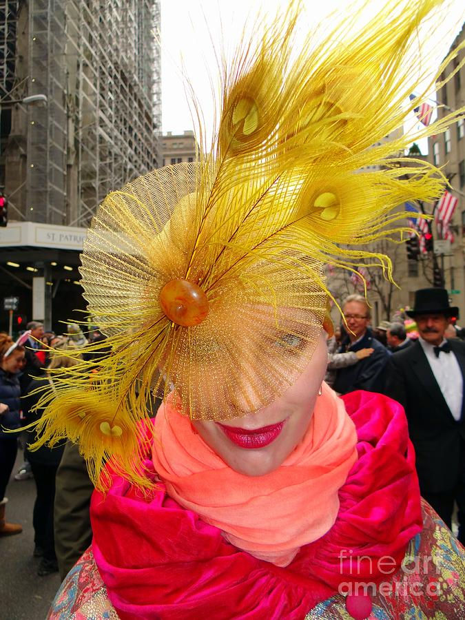 Easter Parade Photograph - Feathered Finest by Ed Weidman