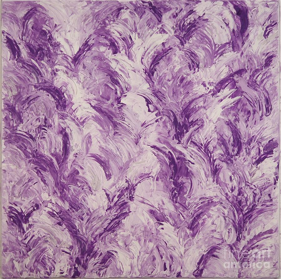 Feathers Painting - Feathers by Barbara Carretta