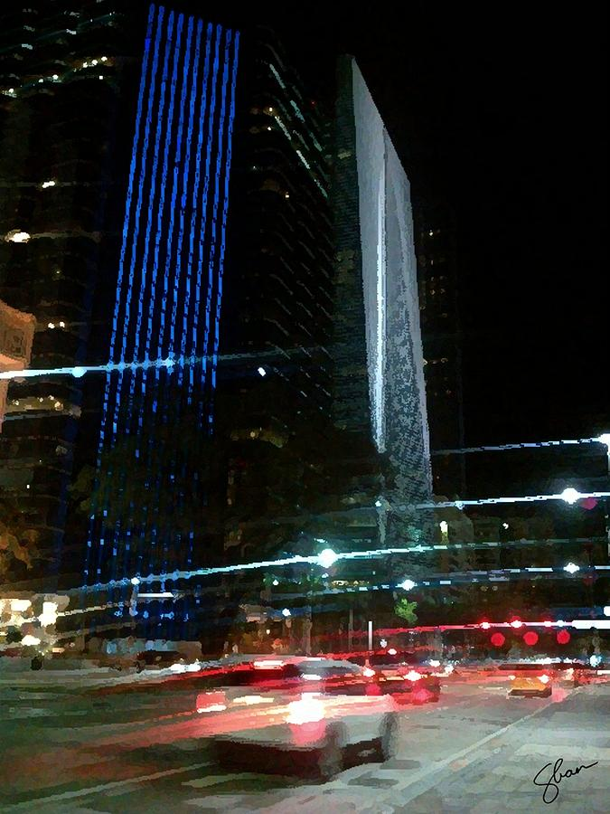 Miami Digital Art - February In Miami by Shawn Lyte