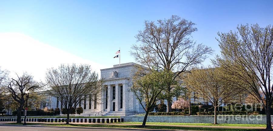 Federal Photograph - Federal Reserve Building by Olivier Le Queinec