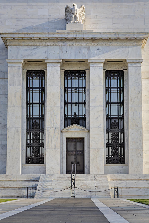 Federal Reserve Photograph - Federal Reserve by Susan Candelario