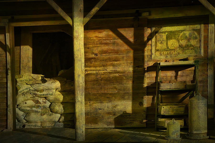 Photograph Photograph - Feed Mill Store by Randall Nyhof