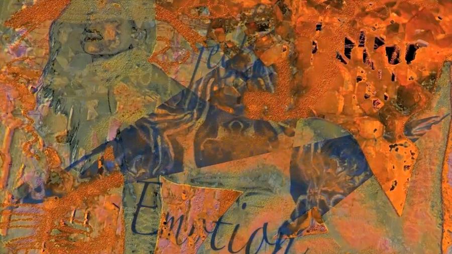Orange Photograph - Feel Emotion Orange And Green by Deprise Brescia