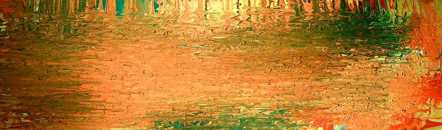 Feel Me Flow Painting - Feel Me Flow by Cyryn Fyrcyd