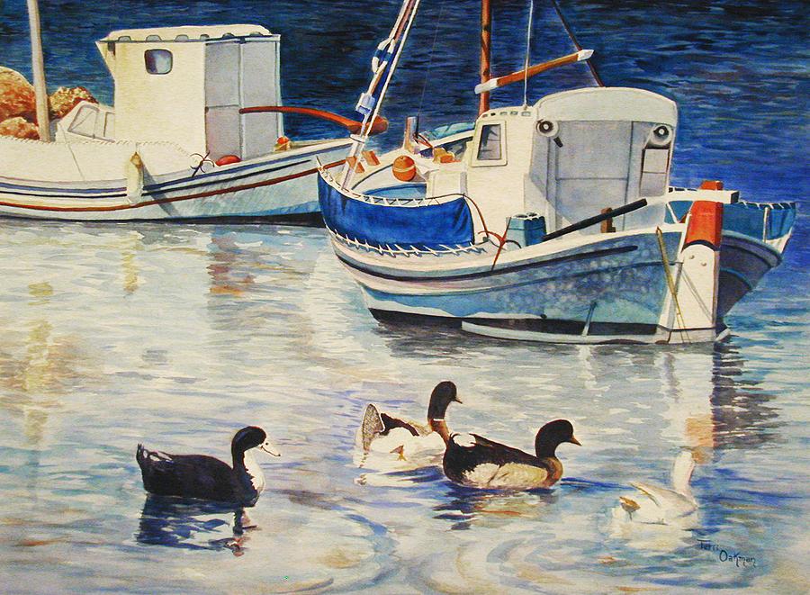 Feeling Ducky Painting by Terri  Meyer