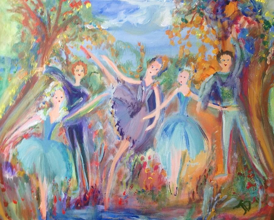 Complete Painting - Feeling Of Completeness by Judith Desrosiers