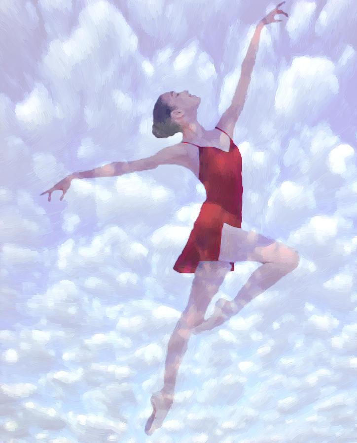 Feels Like Heaven Painting by Steve K