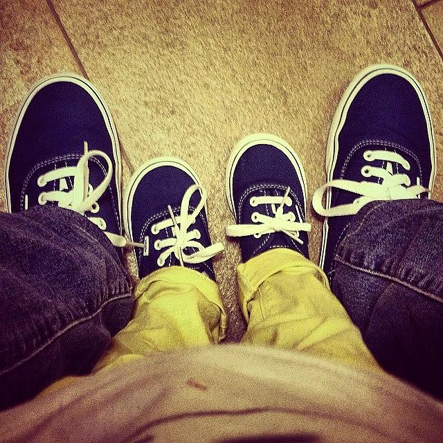 Vans Photograph - #feet #shoes #kid #vans #little #people by Luisa Azzolini