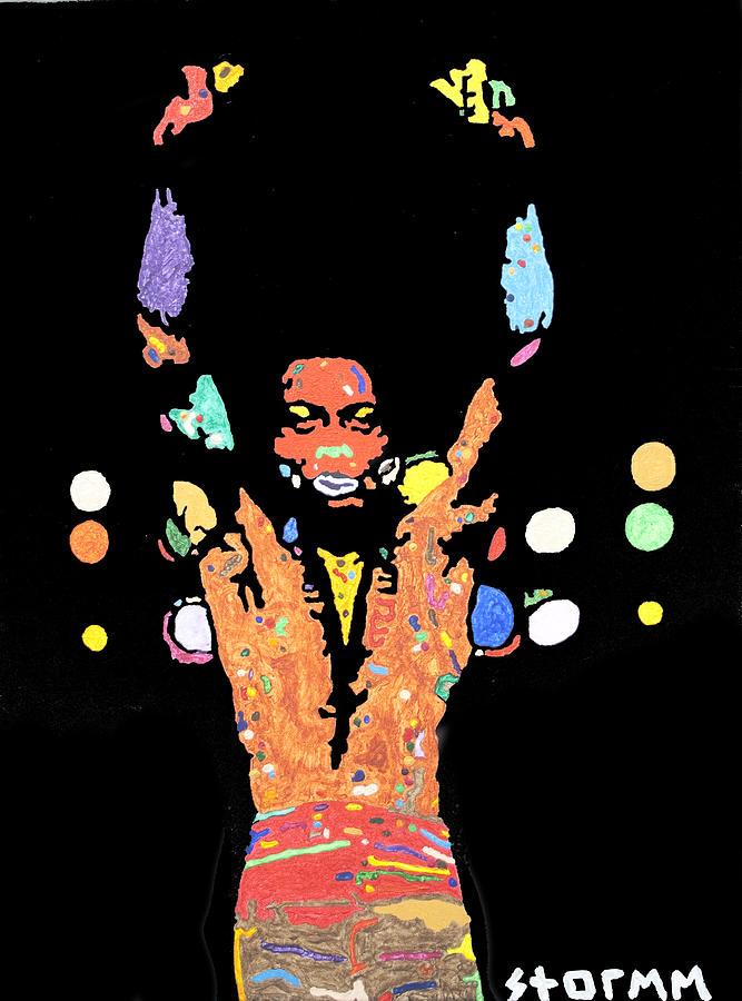 Fela Kuti Painting