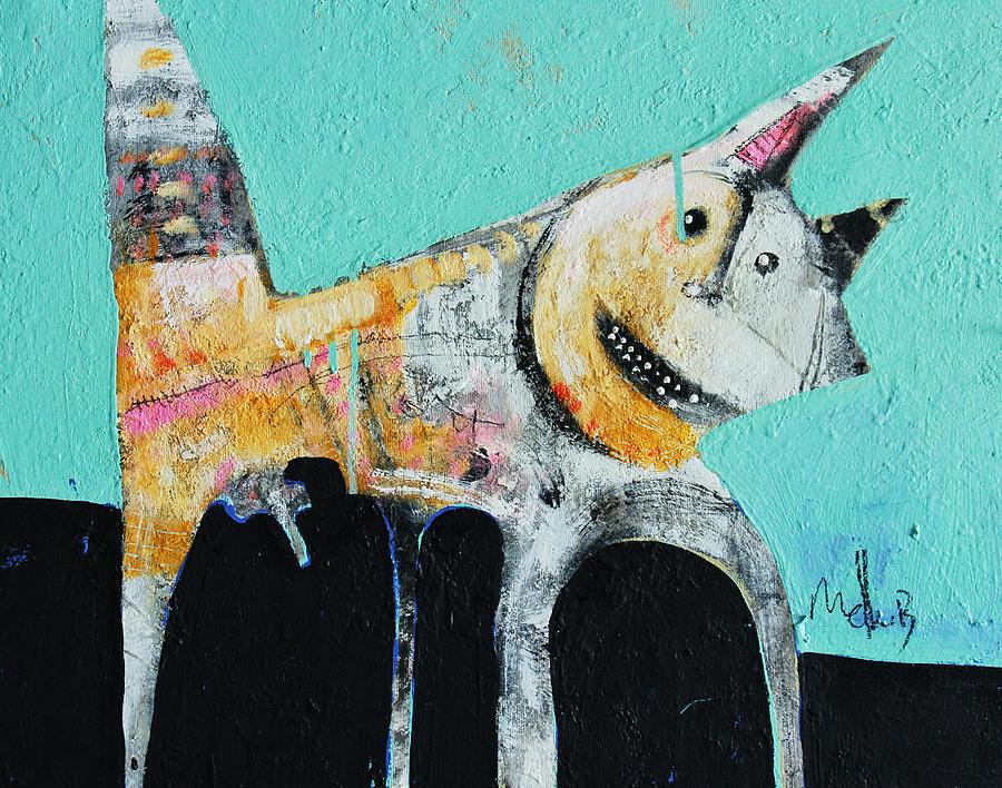 Acrylic Painting - Feles No. 4 by Mark M  Mellon