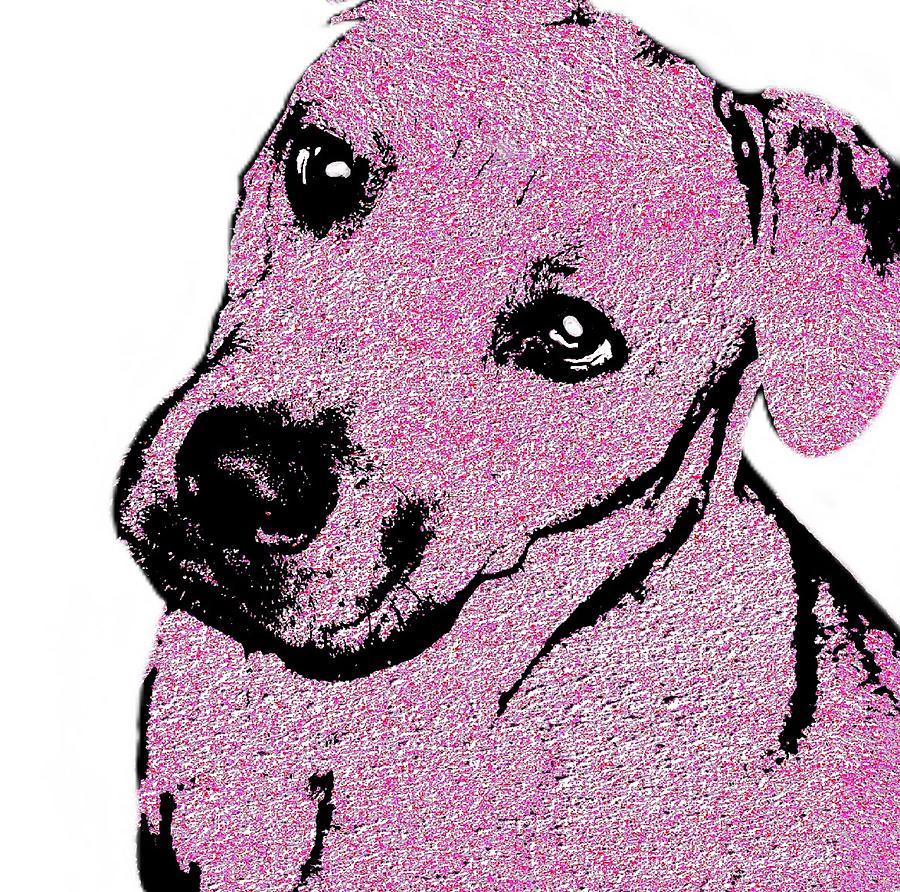 Dog Digital Art - Felicias Love 2 by Cindy Edwards