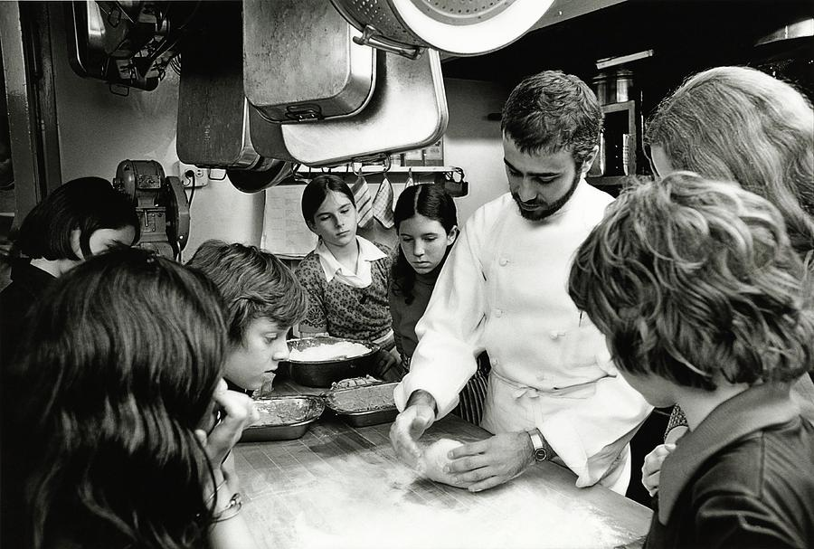 Felipe Rojas-lombardi Teaching Children To Cook Photograph by Frances McLaughlin-Gill