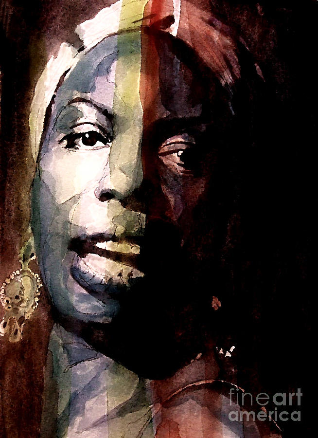 Nina Simone Painting - Felling Good  by Paul Lovering