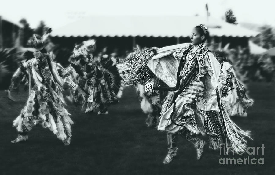 Native American Photograph - Female Fancy Dancer by Scarlett Images Photography