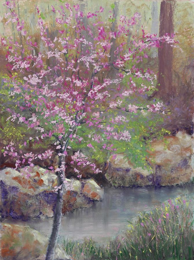 Redbud Pastel - Femme Osage Spring by Lorraine McFarland