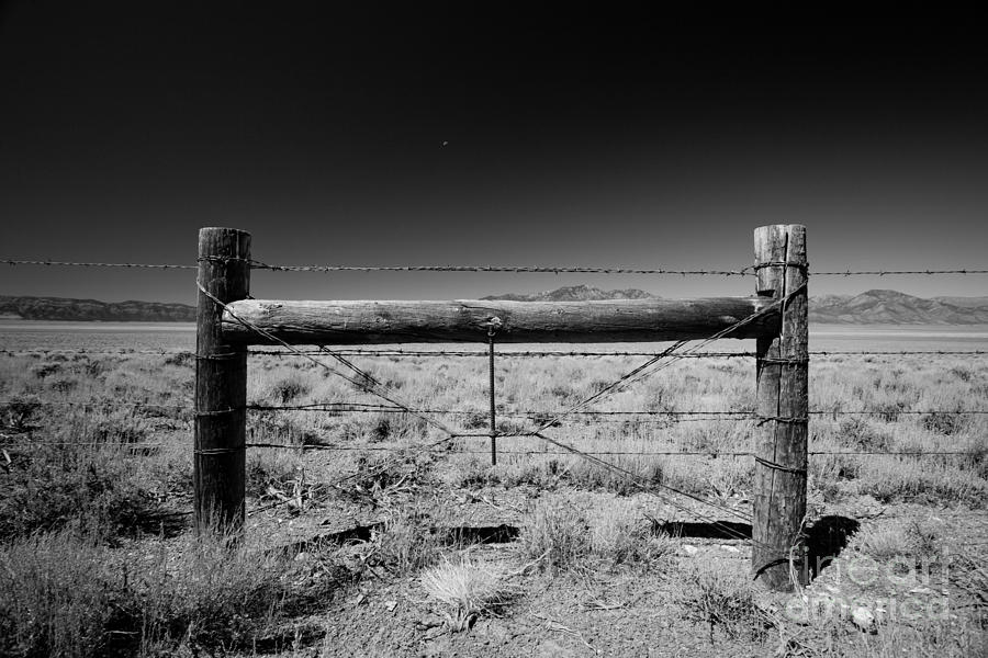 Rural Photograph - Fence Posts by Rick Rhay
