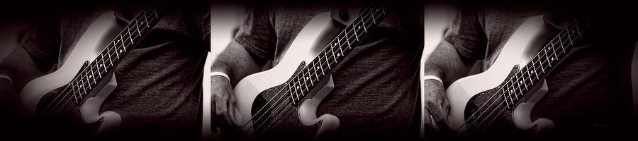 Fender Photograph - Fender Bass by Bob Orsillo