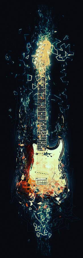 Fender Strat Digital Art