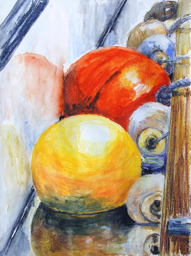 Fenders II Painting by Barbara Pommerenke