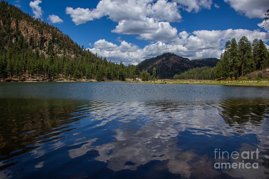 Lakes Photograph - Fenton Lake Reflections by Jim McCain