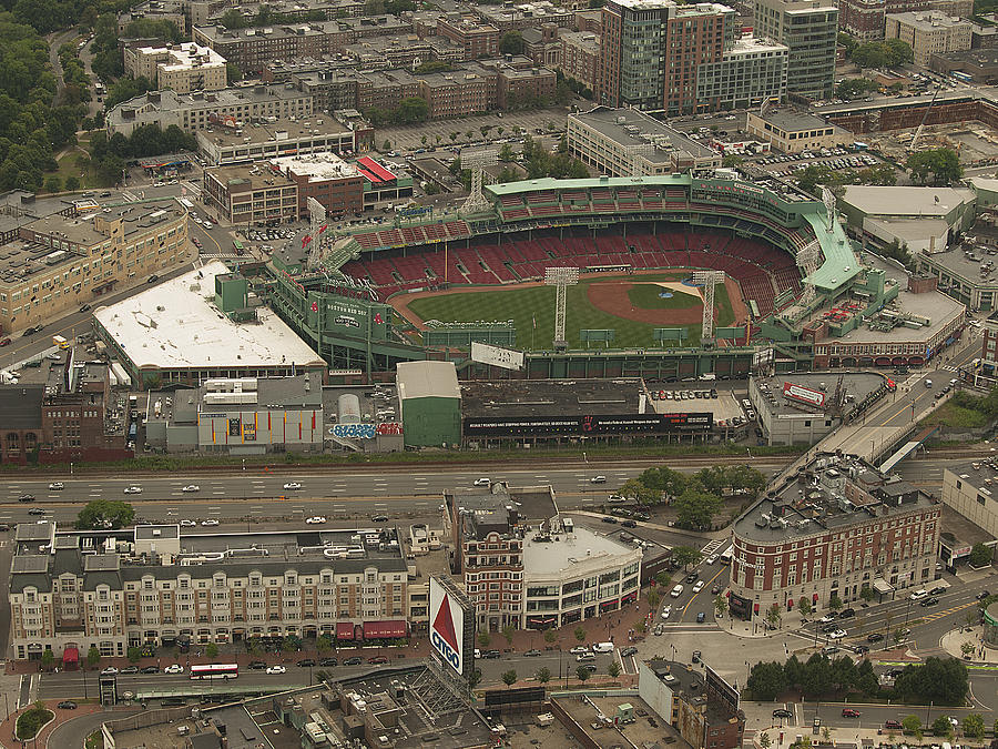 Fenway Park Photograph - Fenway  by Joshua House