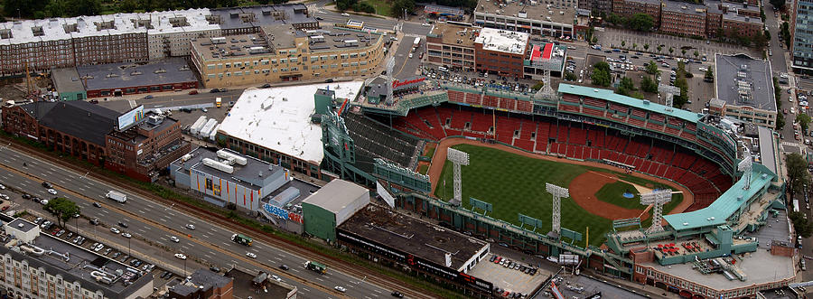 Fenway Park Photograph - Fenway Panorama by Joshua House