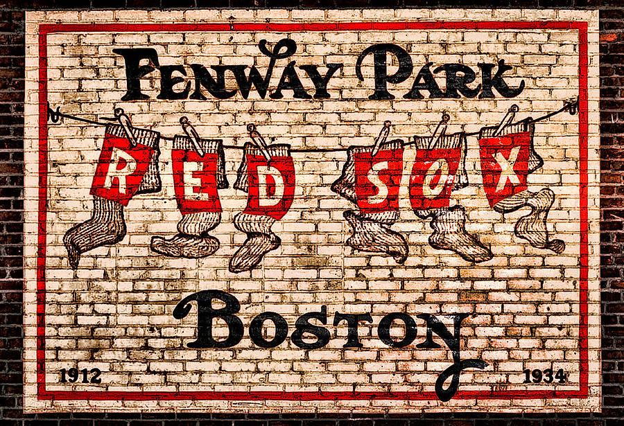 Fenway Park Boston Redsox Sign Photograph - Fenway Park Boston Redsox Sign by Bill Cannon