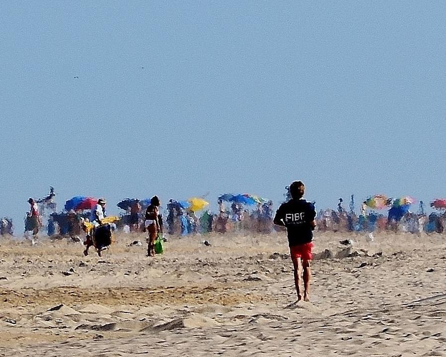 Fenwick Island Photograph - Beach Scene - Fenwick Island Delaware by Kim Bemis