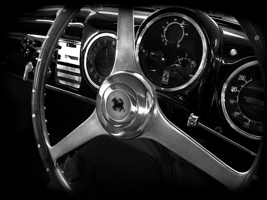 Ferrari Photograph - Ferrari 166 Interior by Mark Rogan