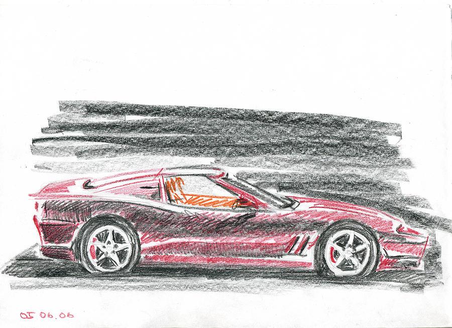Auto Painting - Ferrari 550 by Ildus Galimzyanov