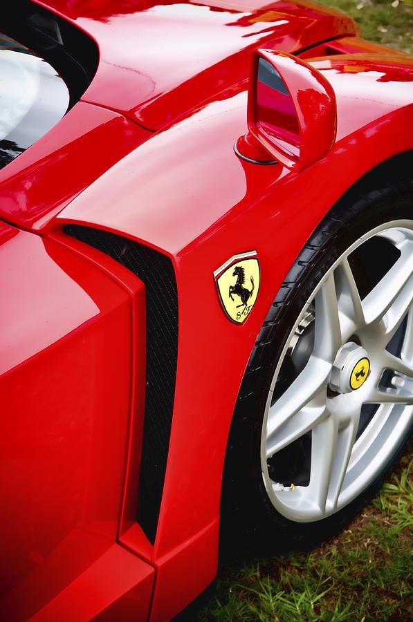 Ferrari Enzo Photograph - Ferrari Enzo by Phil motography Clark