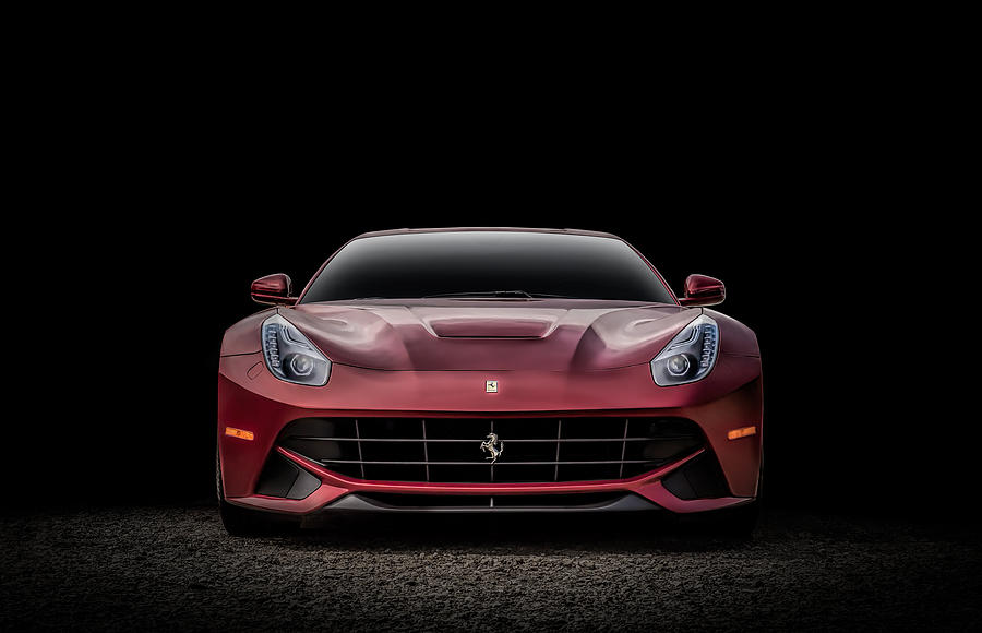 Ferrari Digital Art - Ferrari F12 by Douglas Pittman