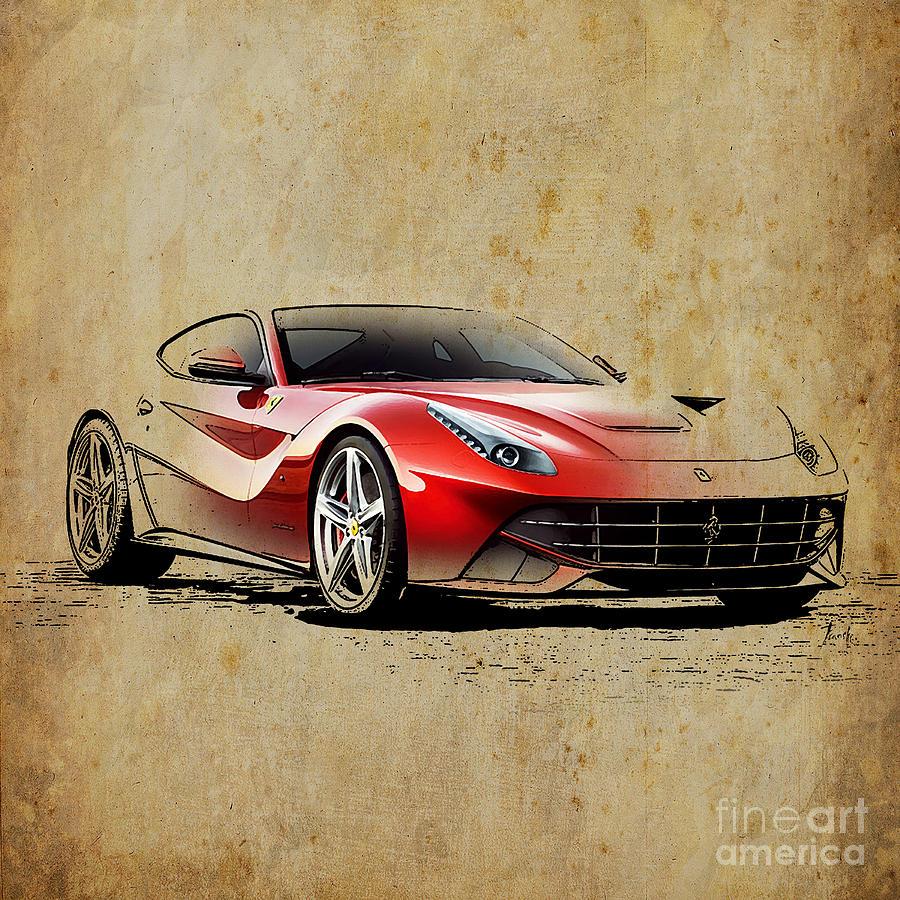 Ferrari F12 Art   Fine Art America