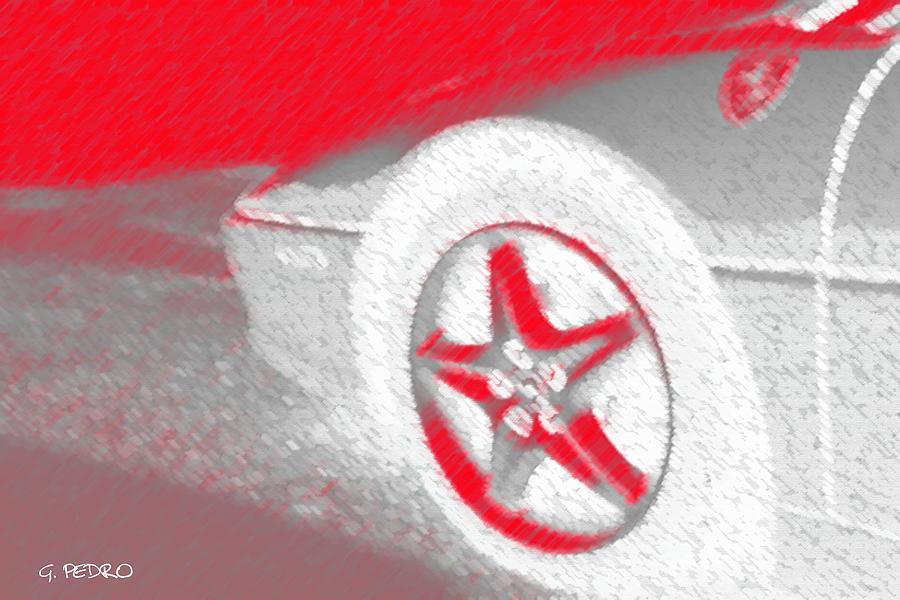 Ferrari F355 Spider Pastel