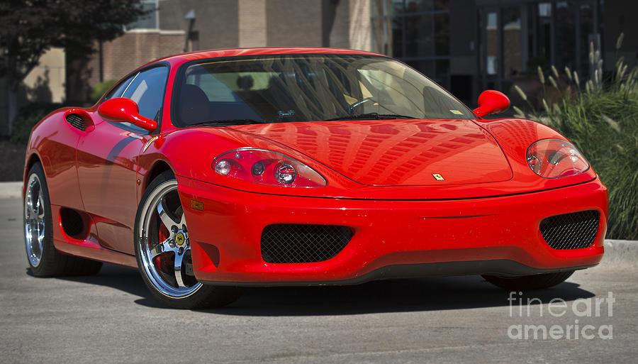 Ferrari Red Photograph By Dennis Hedberg