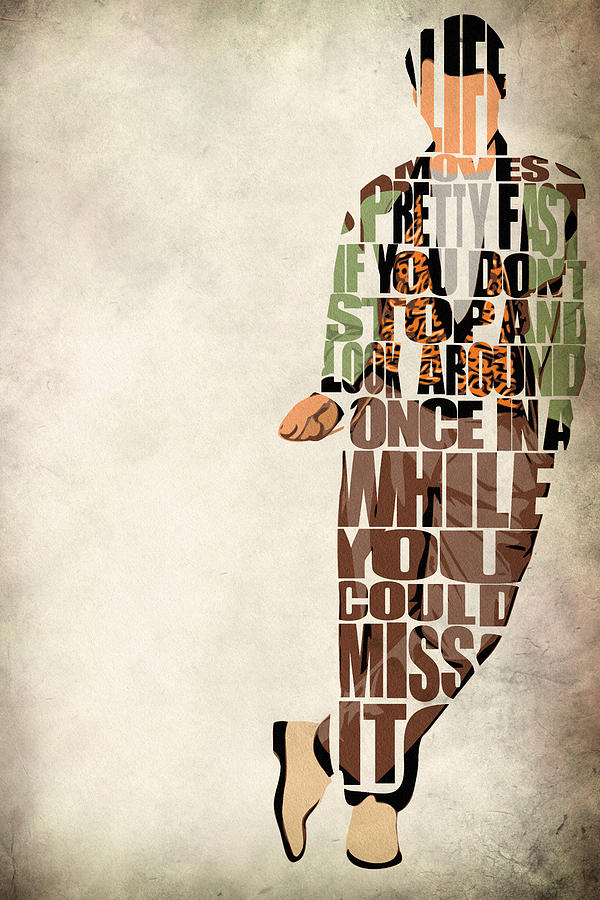 Ferris Bueller Digital Art - Ferris Buellers Day Off by Inspirowl Design