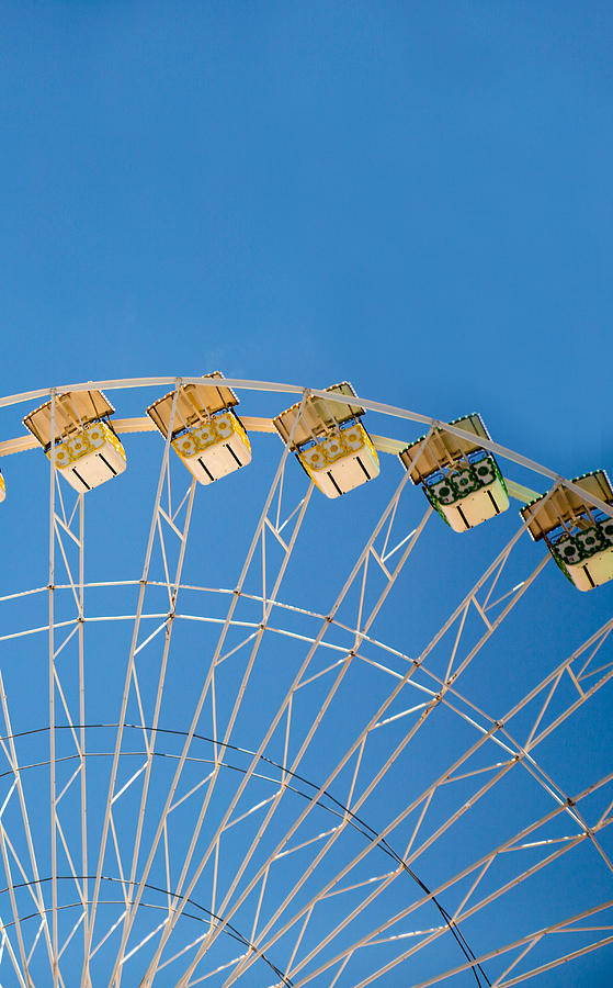 Ferris Wheel Photograph - Ferris Wheel 2 by Rebecca Cozart