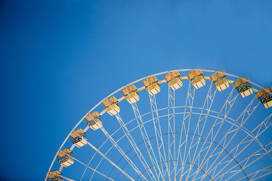 Ferris Wheel Photograph - Ferris Wheel 3 by Rebecca Cozart