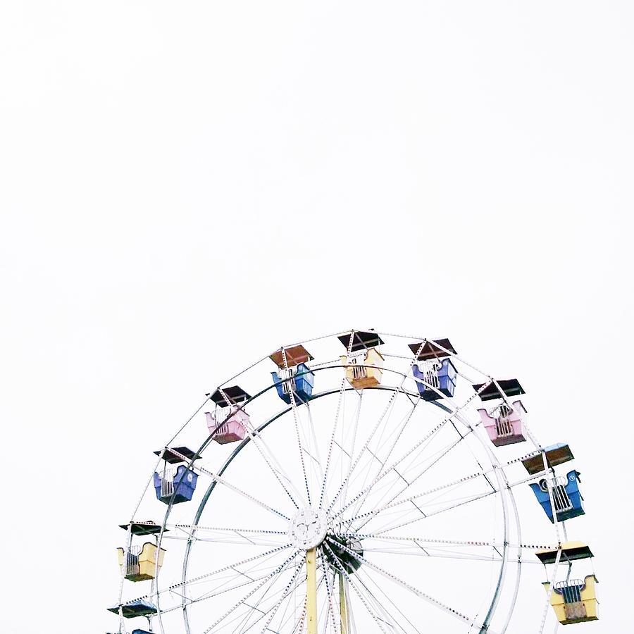Ferris Wheel Against Clear Sky Photograph by Avneet Kaur / Eyeem