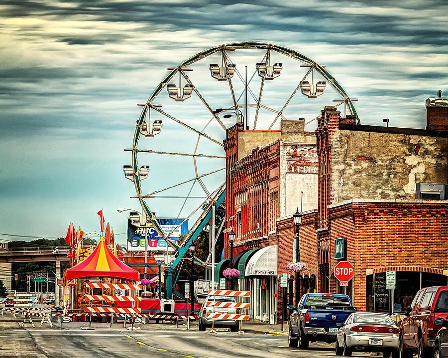 Ferris Wheel in Winona by Al  Mueller