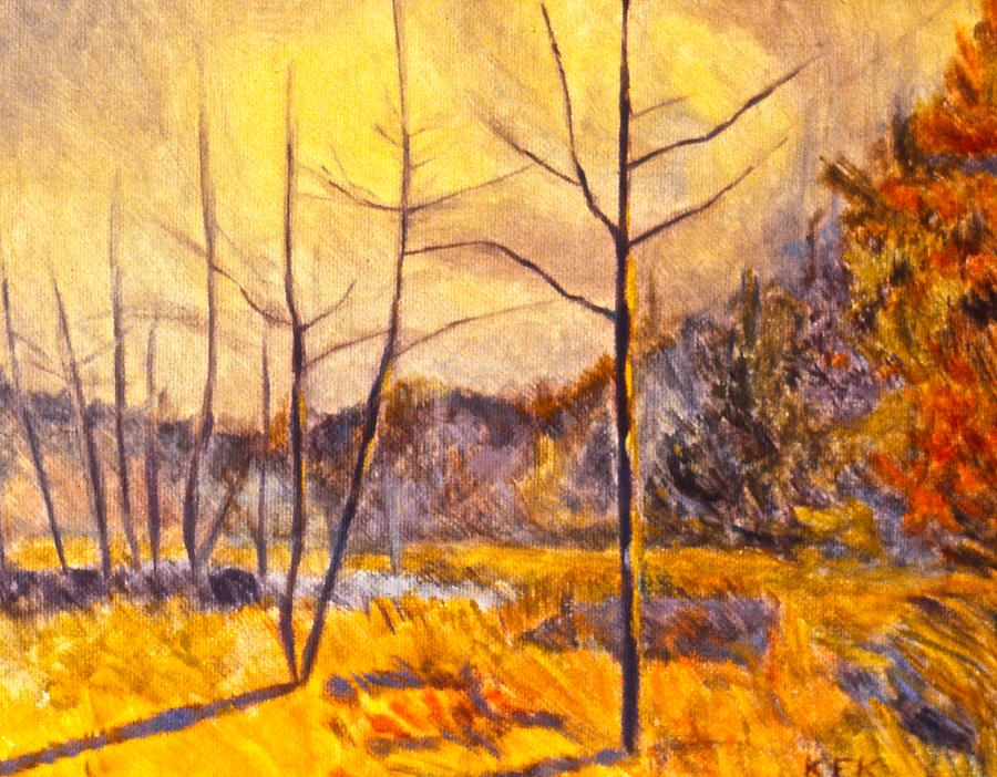 Landscape Painting - Ferrum by Kendall Kessler