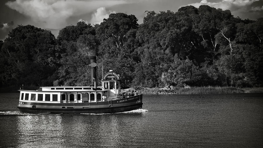 Black And White Photograph - Ferry by Mario Celzner