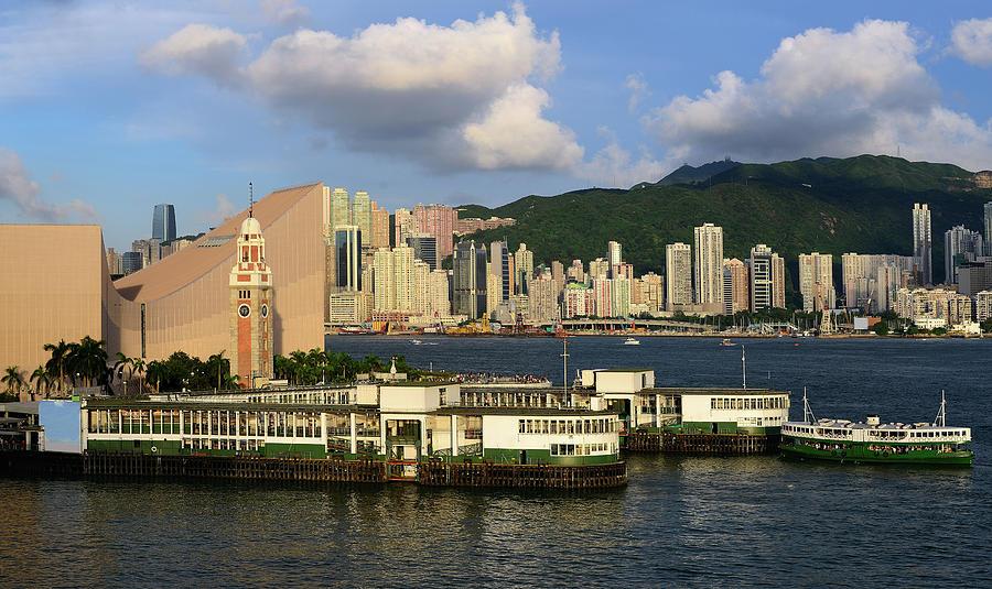 Ferry Pier, Hong Kong, 2013 Photograph by Joe Chen Photography