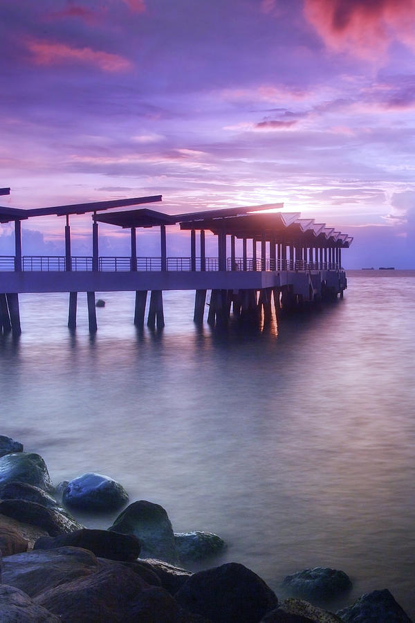 Ferry Station Photograph by Melv Pulayan