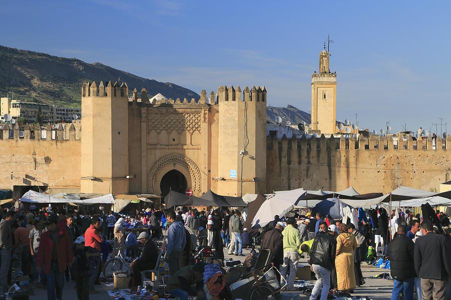 Fes Medina Morocco Photograph