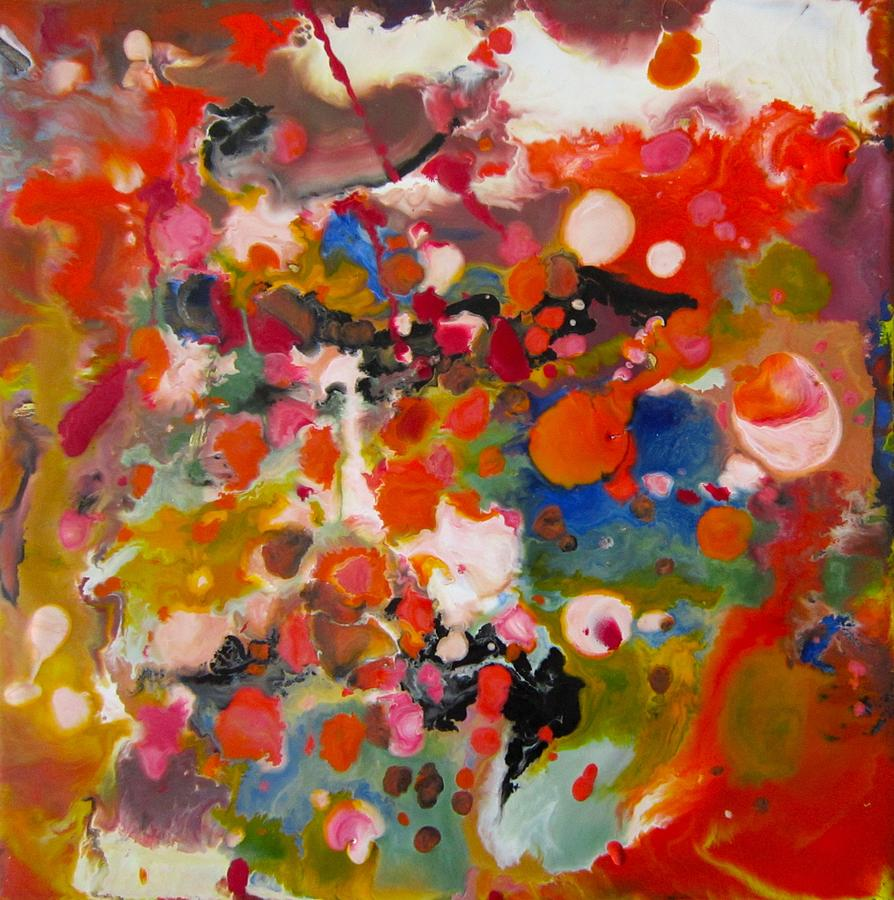 Abstract Painting - Festival by Marita McVeigh