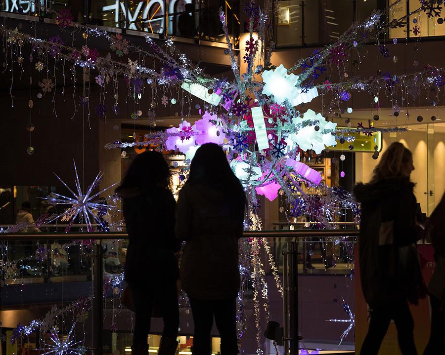 Trinity Photograph - Festive Season Shopping by Paul Indigo