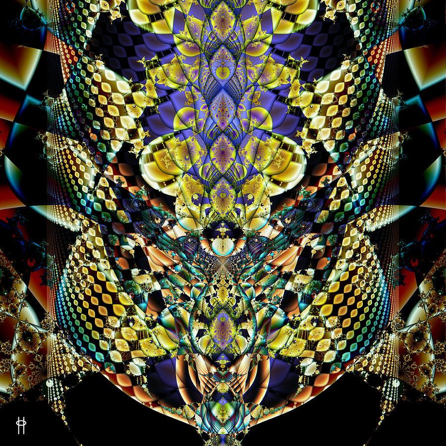 Jim Pavelle Fine Art Digital Art - Festooned by Jim Pavelle