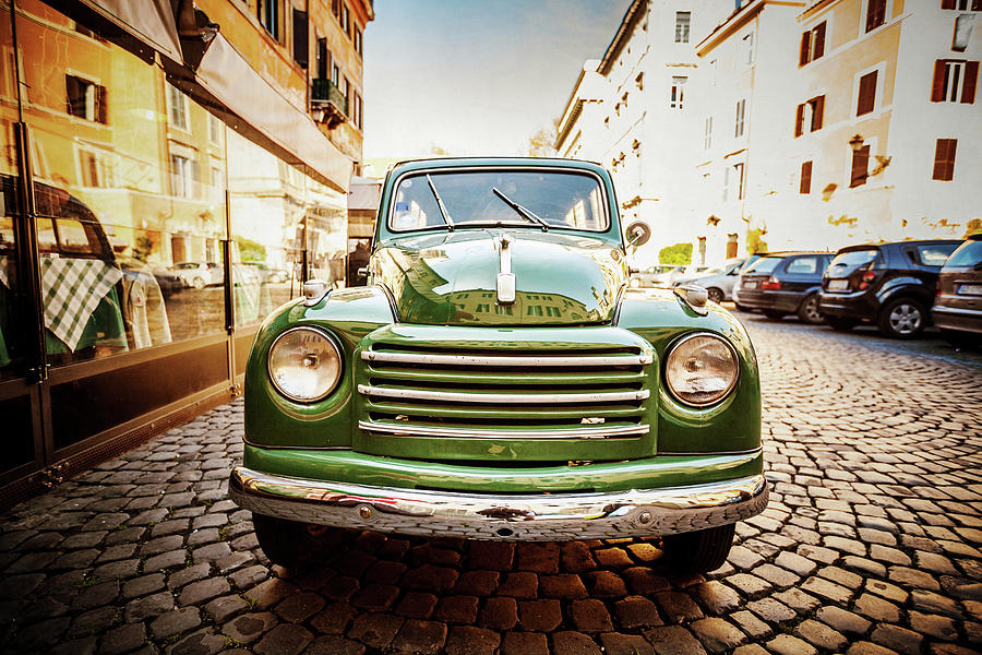 Fiat 500 C Topolina Vintage Classic Car Photograph by Piola666